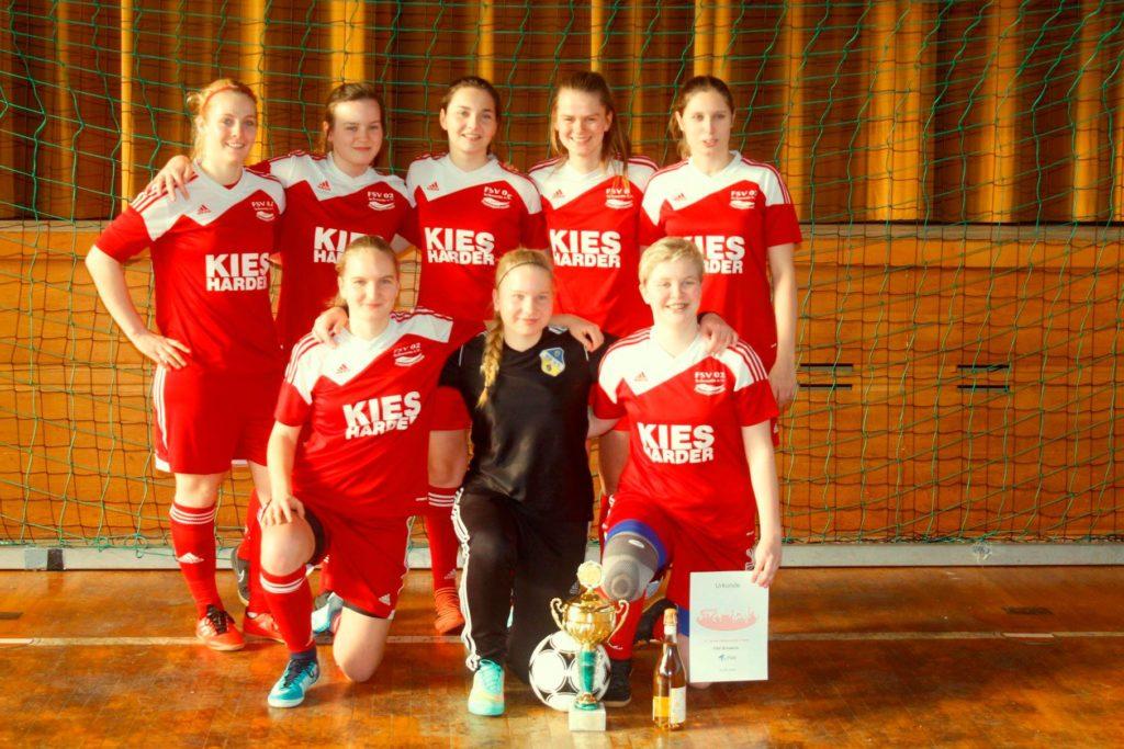 B-Juniorinnen des FC Anker Wismar auf einem tollen Silberrang