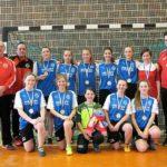 2. Platz für unsere B-Mädchen bei den Futsal Landesmeisterschaften