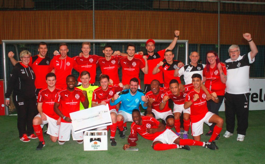 Überragend – FC Anker Wismar gewann den Lübzer-Pils-Cup in Schwerin