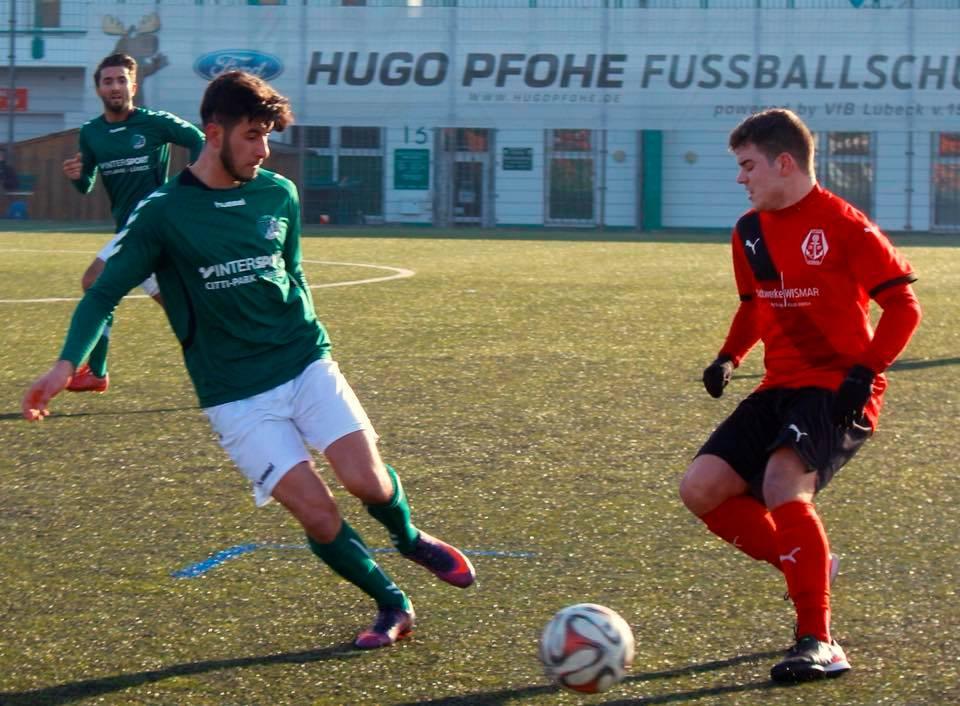 Kurzfristiges Testspiel gegen VfB Lübeck U23