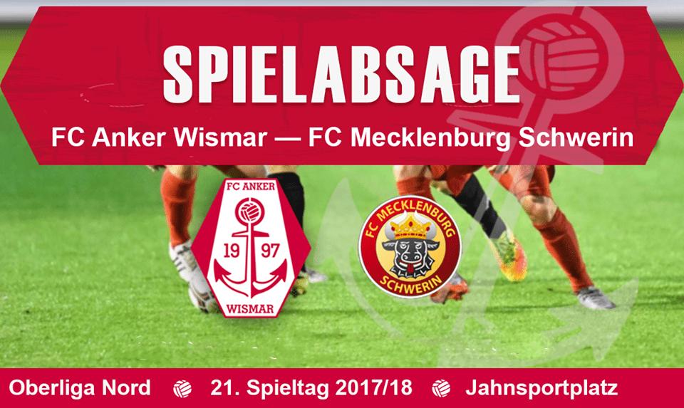 Erneute Spielabsage gegen Mecklenburg Schwerin