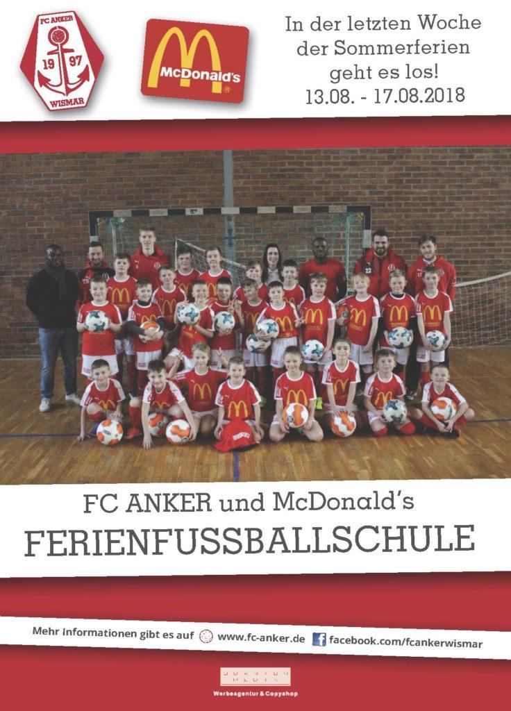 Jetzt zur Sommerferien-Fußballschule 2018 anmelden
