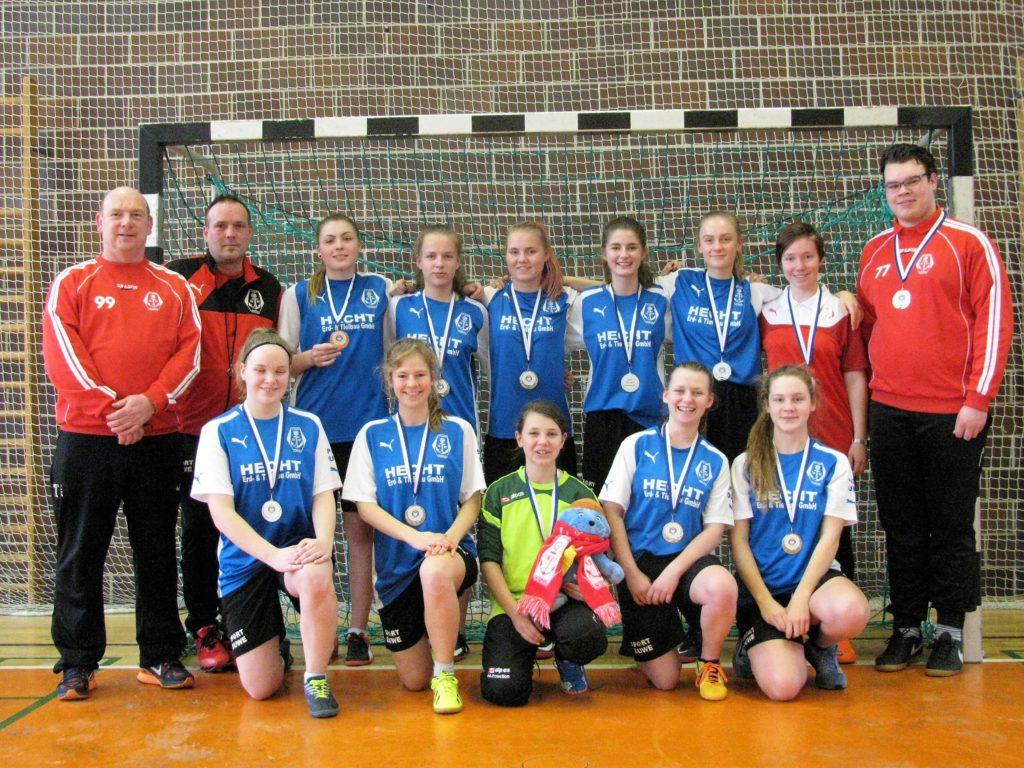 Bronze für die FC Anker Wismar B-Mädchen