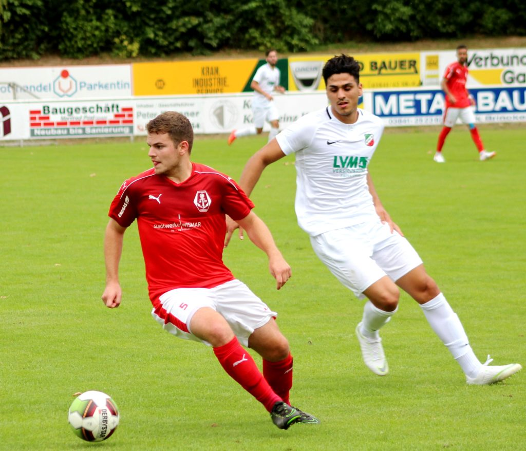 FC Anker Wismar erzielte beim 3:2-Sieg alle fünf Treffer selbst