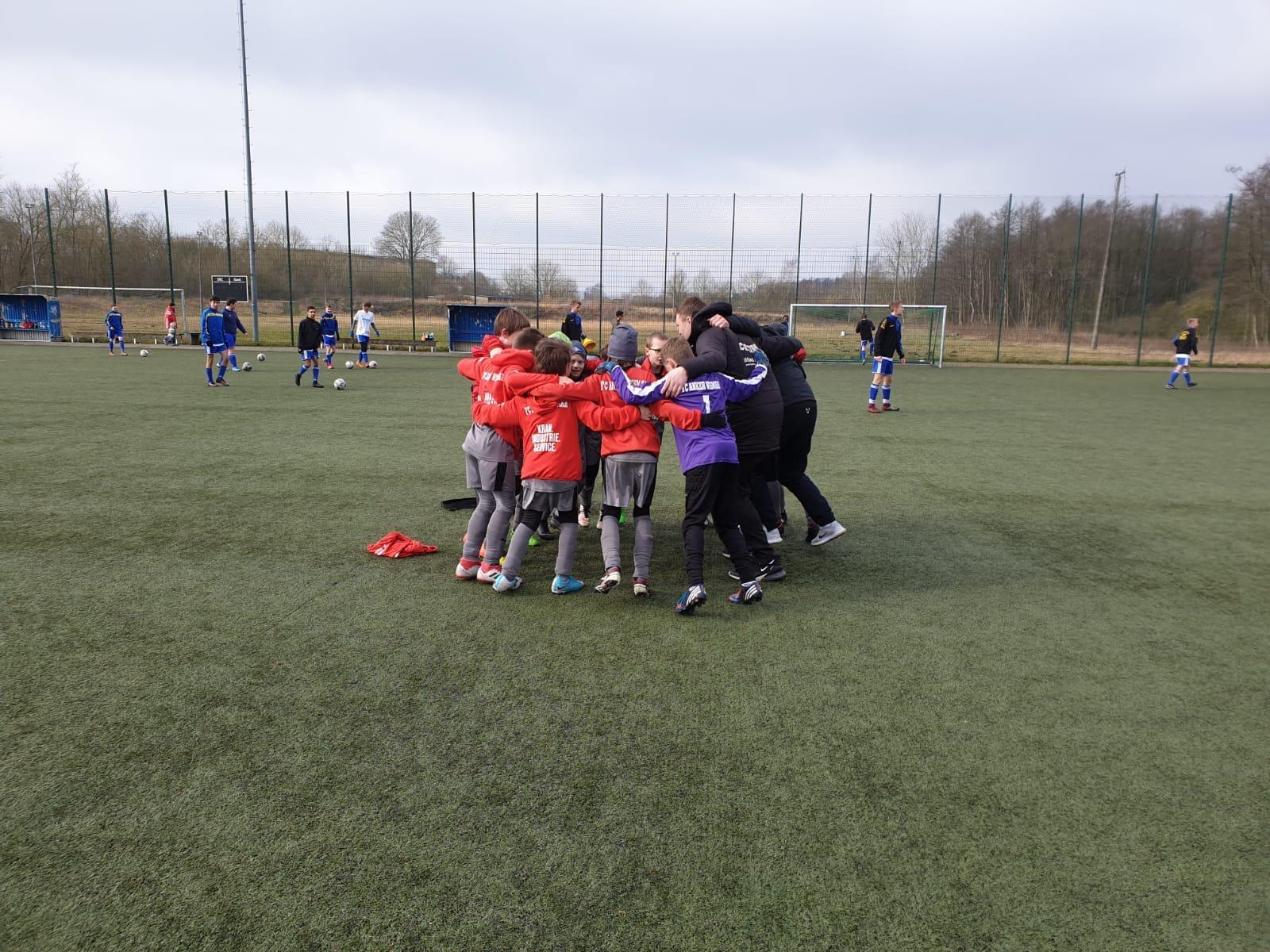 E2-Junioren siegreich im Nachholspiel gegen den Schweriner SC